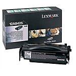 Lexmark 12A8425 Sort Lasertoner Original