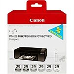 Canon PGI-29 Bundle MBK / PBK / DGY / GY / LGY Original