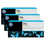 HP 771C Yellow toner 3 pak. Original