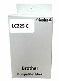 Brother LC225XL Cyan kompatibel