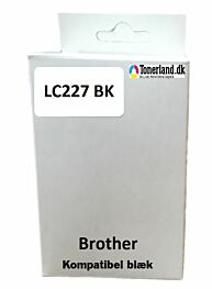 Brother LC227XL BK sort kompatibel