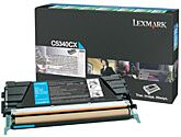 Lexmark C5340CX Cyan Lasertoner HC Original