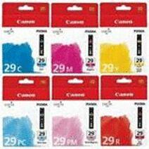 Canon PGI-29 Pakke C / M / Y / PC / PM / R Original