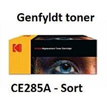 CE285A Sort Genbrug-Miljøvenligt