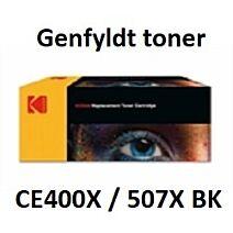 CE400X / 507X Sort Genbrug-Miljøvenligt