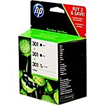 HP No.301 Triple Pack CR340EE Original