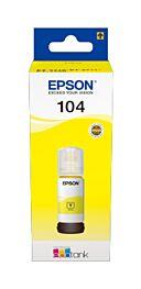 Epson 104 Yellow Blæk C13T00P440 Original