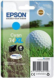 Epson 34XL Cyan Printerpatron Original