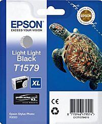 Epson T1579 Lys Lys Sort Blækpatron Original