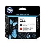 HP No. 744 - F9J88A Matte Sort & Red Printhead Original