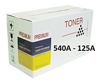 HP CB540A 125A Sort Lasertoner Kompatibel