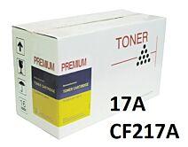 HP 17A Sort CF217 Kompatibel