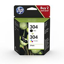 Hp 304 Value Pack No.304 Original