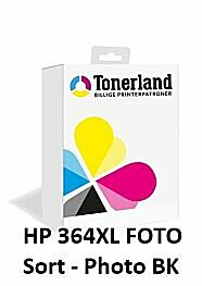 HP 364XL Foto - Photo Sort Blækpatron kompatibel