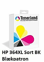 HP 364XL Sort Blækpatron Kompatibel