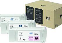 HP 83 UV C5077A Lys Magenta 3 pk.Original