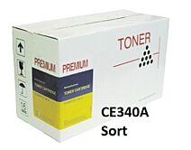 HP CE340A Sort Kompatibel