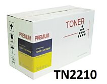 Brother TN2210 Sort Lasertoner Kompatibel