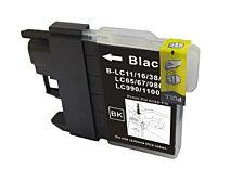 LC980/LC1100BK sort printerpatron Kompatibel