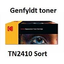 TN2410 Sort Genbrug-Miljøvenligt