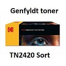 TN2420 Sort Genbrug-Miljøvenligt