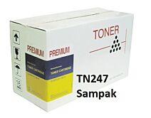 TN247CMYK sampak 4 stk. toner Kompatibel