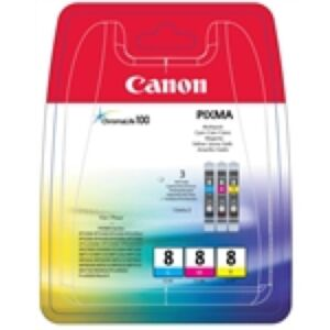 Canon CLI-8 Bundle Cyan/Magenta/Yellow Original