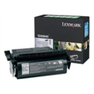 Lexmark 12A5845 Sort Lasertoner Original