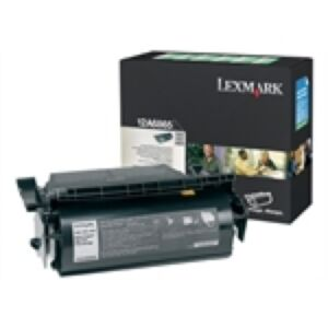 Lexmark 12A6865 Sort Lasertoner Original
