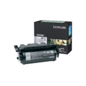 Lexmark 12A7460 Sort Lasertoner Original