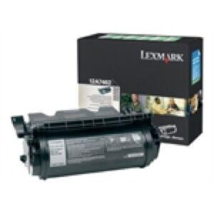 Lexmark 12A7462 Sort Lasertoner Original
