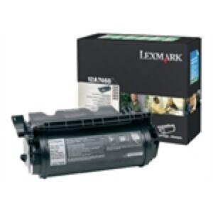 Lexmark 12A7468 Sort Lasertoner Original