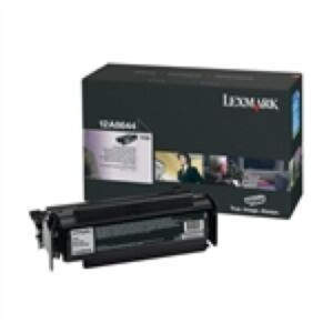 Lexmark 12A8644 Sort Lasertoner Original