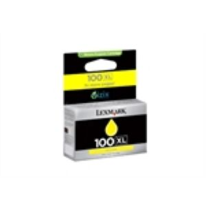 Lexmark No.100XL Yellow Printerpatron 14N1071E Original