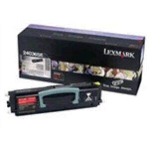 Lexmark 24036SE Sort Lasertoner Original