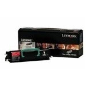 Lexmark 34016HE Sort Lasertoner Original