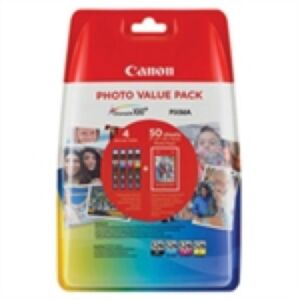 Canon CLI-526 Value Pack CMYPB + Paper Original