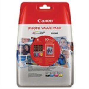 Canon CLI-551 Value Pack CMYPB + Paper Original