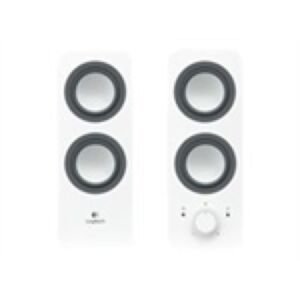 Logitech Z200 Speakers, 2.0 System White