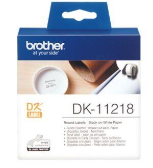 Brother DK11218 Runde labels 24ø