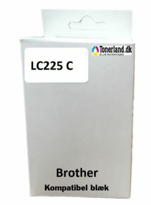 Brother LC225XL Cyan kompatibel