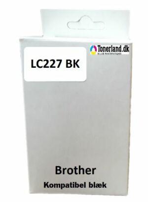 Brother LC227XL BK sort kompatibel