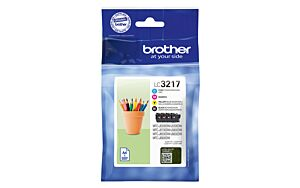 Brother LC3217VALDR Value Pack Original