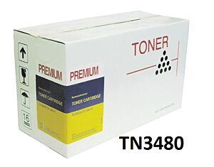 Brother TN3480 Sort toner Kompatibel