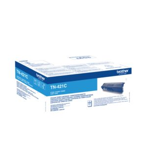 Brother TN421C Cyan Toner Original