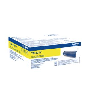 Brother TN421Y Yellow Toner Original