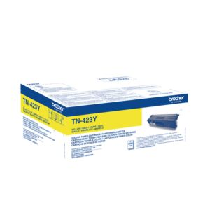Brother TN423Y Yellow Toner Original