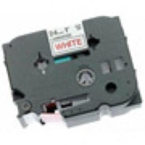 Brother TZE651 TZ-tape / 24 mm. / Sort Tekst / Gul Tape