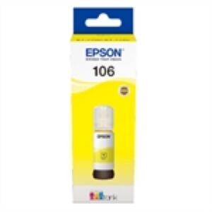 Epson 106 EcoTank Yellow blæk Original