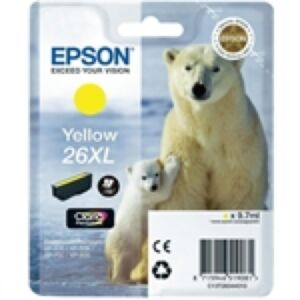 Epson 26XL Yellow Printerpatron Original